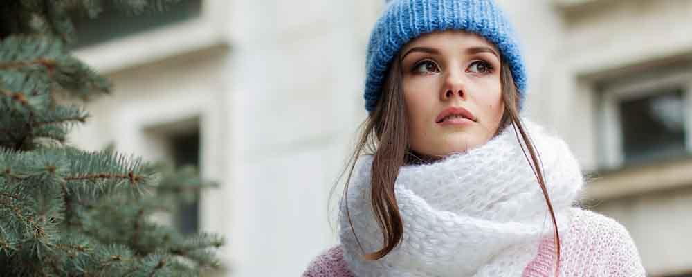 重ね着で寒さを調節
