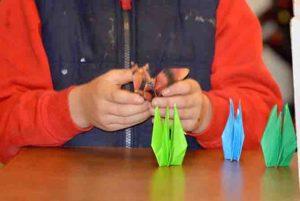 なんとなく作ってみたら、意外と楽しかった折り紙