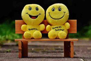 心の余裕は笑顔を見せる。