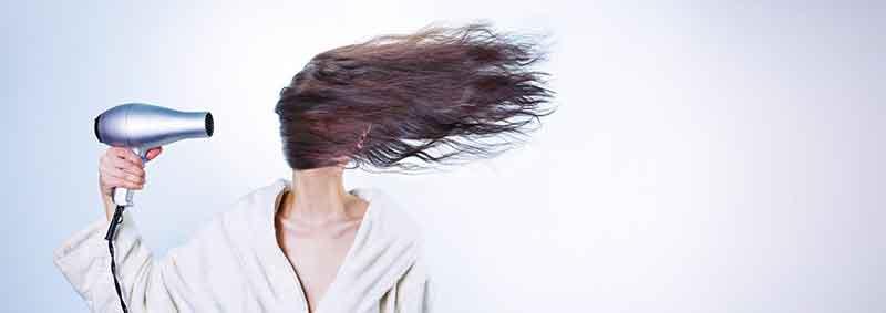 髪はお風呂上がりすぐ乾かす